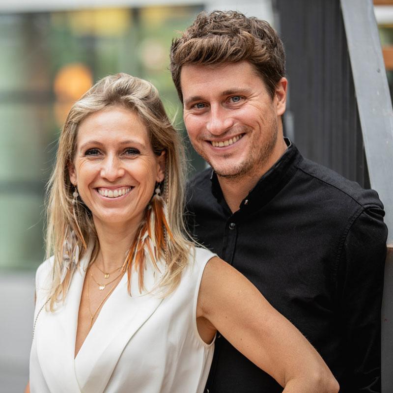 Complet plutôt que parfait: Récit et partage de Sandrine et Nicolas de Vicq